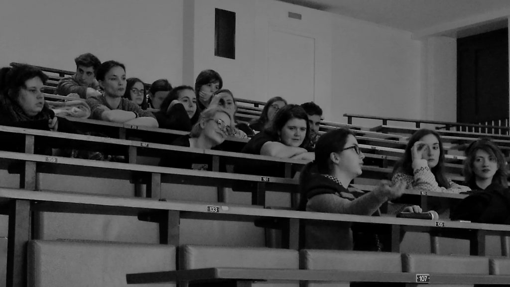 Ciné-débat : les étudiants étaient présents au rendez-vous !