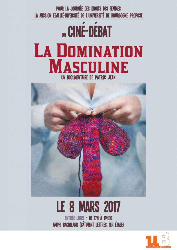 """Ciné-Débat """"La domination masculine"""" (08/03/17)"""