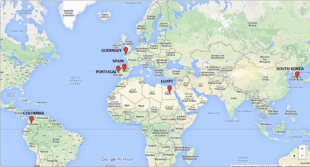 map ESR recruited